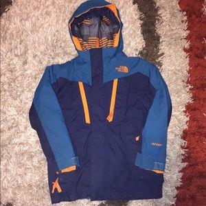 Boys North Face Hyvent Coat